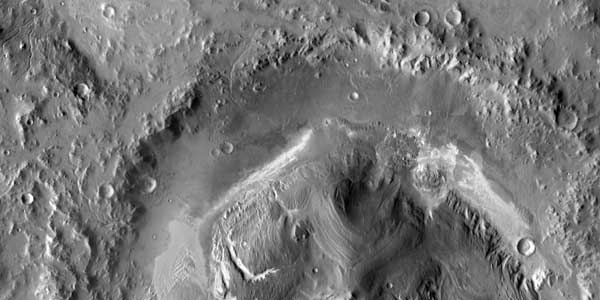 USGS cartographers mapped Gale Crater, landing site of the Mars Science Laboratory