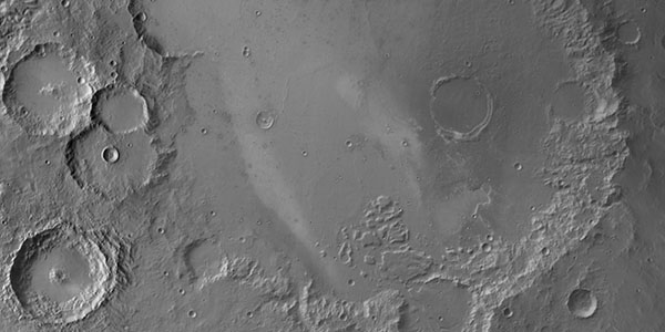 Gusev Crater Thermal Emission Imaging System (THEMIS) Infrared mosaic