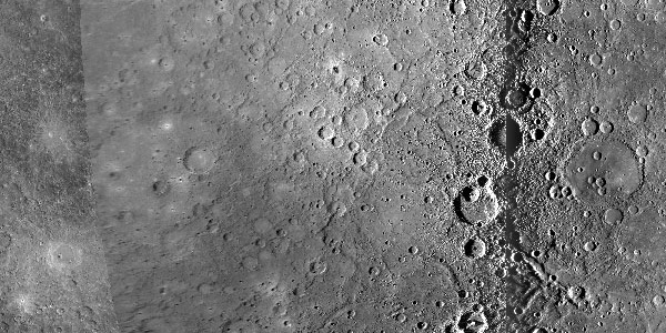 Mercury global mosaic closeup