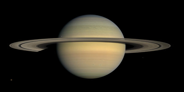 Saturn Viewed by Cassini