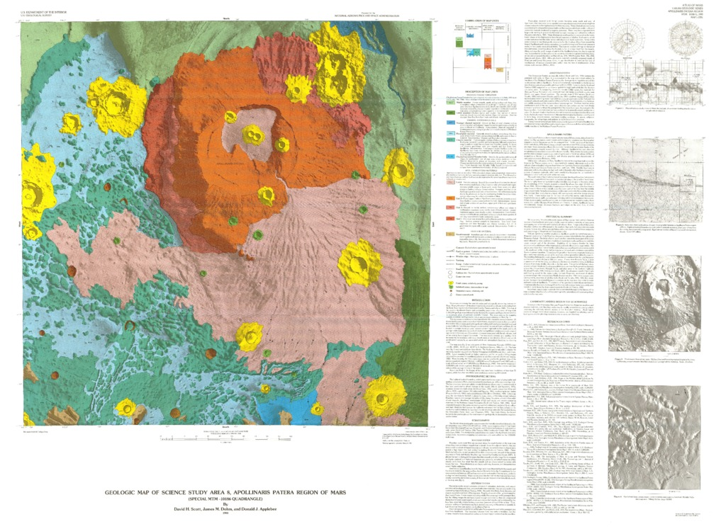 Mars geologic map of science study area 8 apollinaris patera region download gumiabroncs Image collections