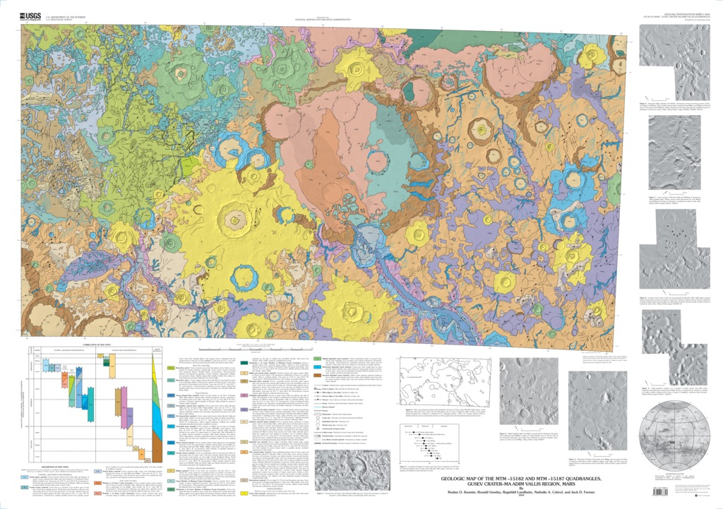 Mars geologic map of the mtm 15182 and mtm 15187 quadrangles mars geologic map gumiabroncs Images