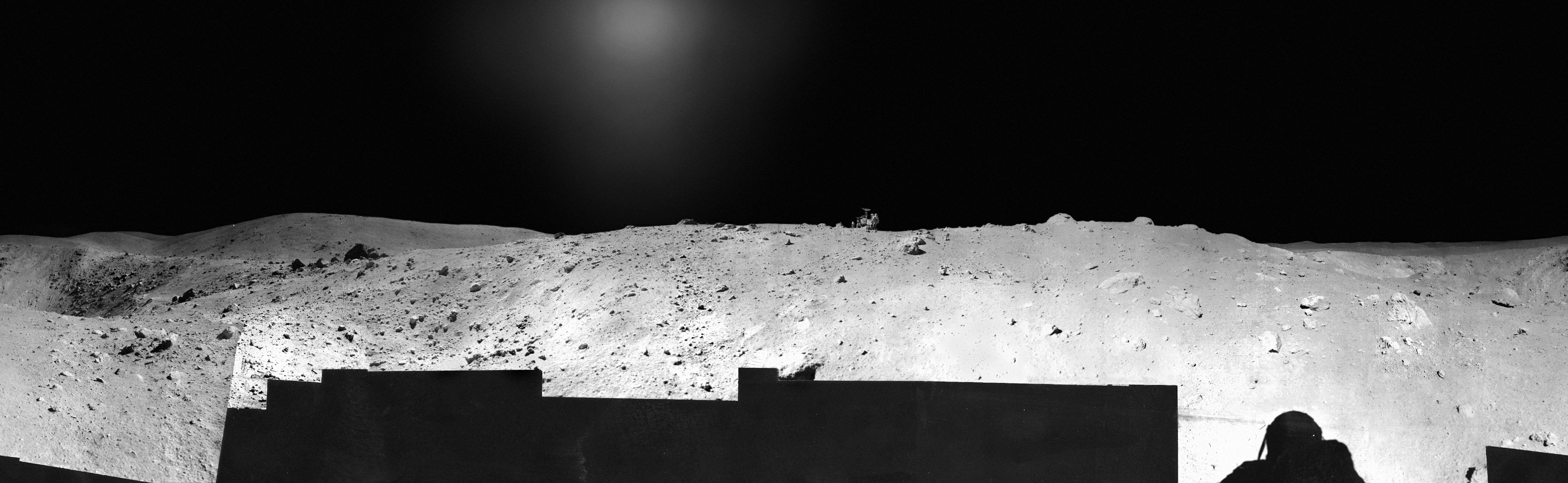 Apollo 16 Panorama - Station 11 | USGS Astrogeology ...