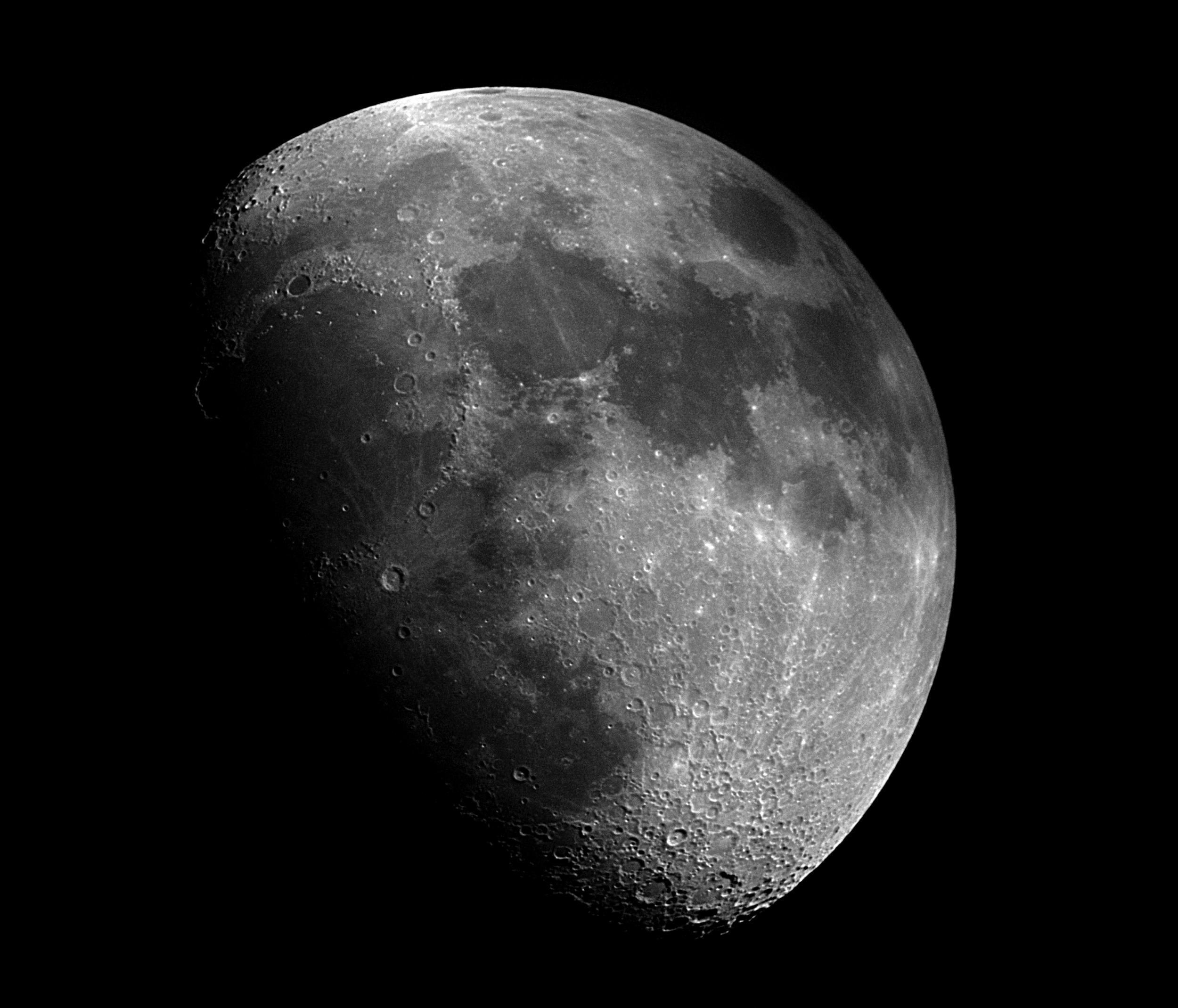 Mike Klinke's moon shot