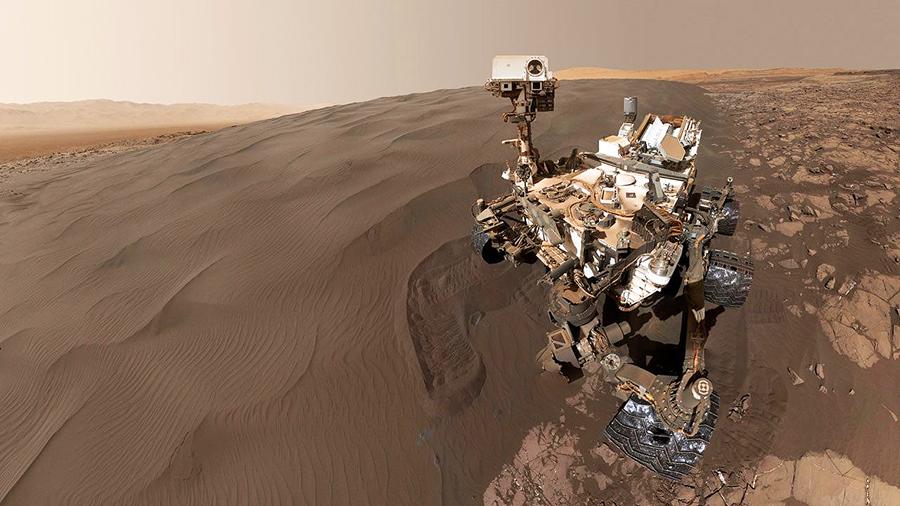 Sand Dune on Mars