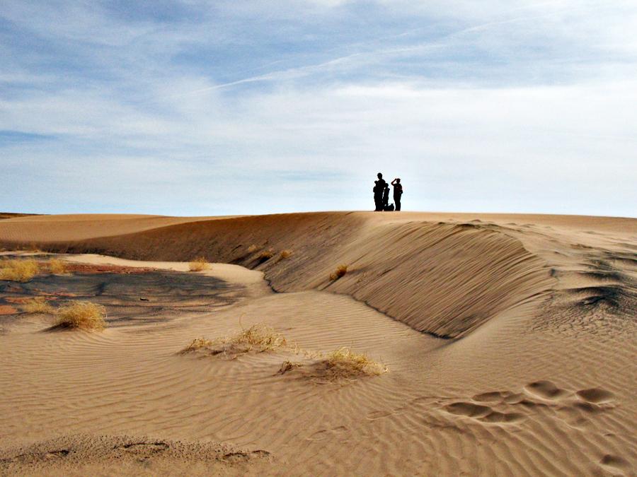 Sand Dune at Grand Falls
